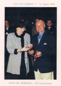 San Pelegrino 5 luglio 1996